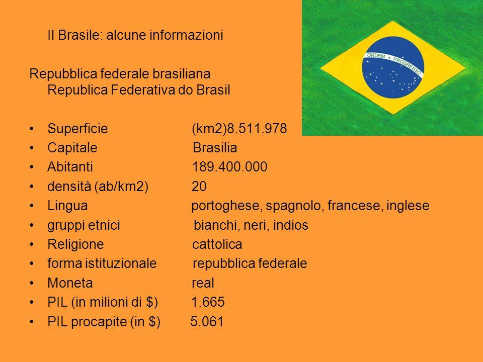 Il Brasile: alcune informazioni