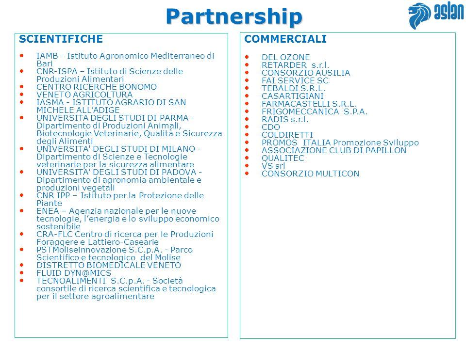 Partnership SCIENTIFICHE COMMERCIALI 14