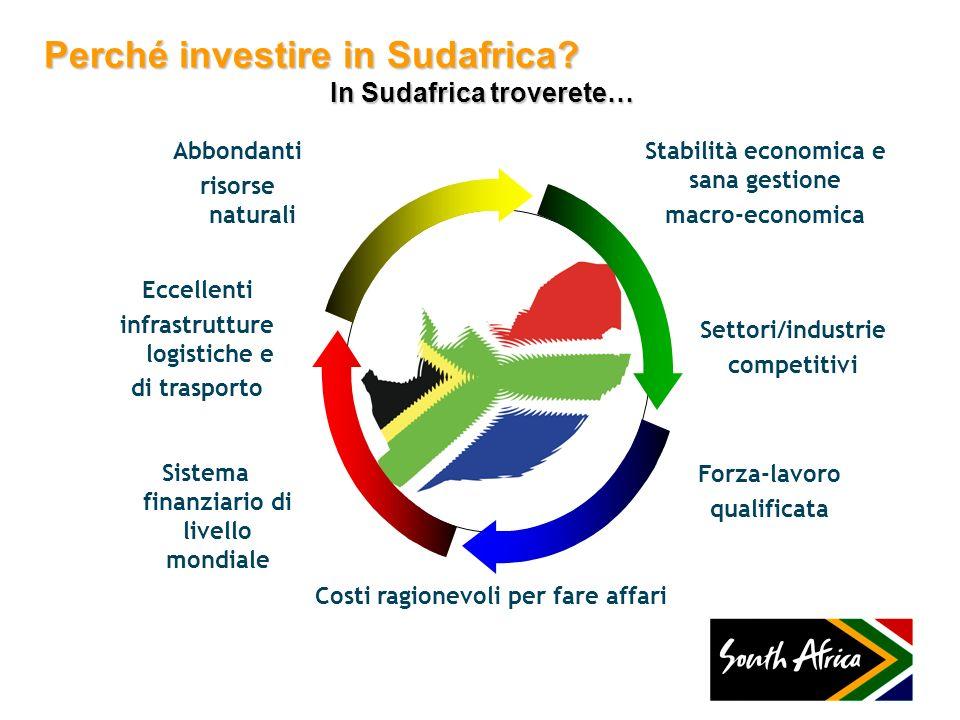 Perché investire in Sudafrica