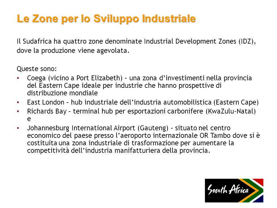 Le Zone per lo Sviluppo Industriale