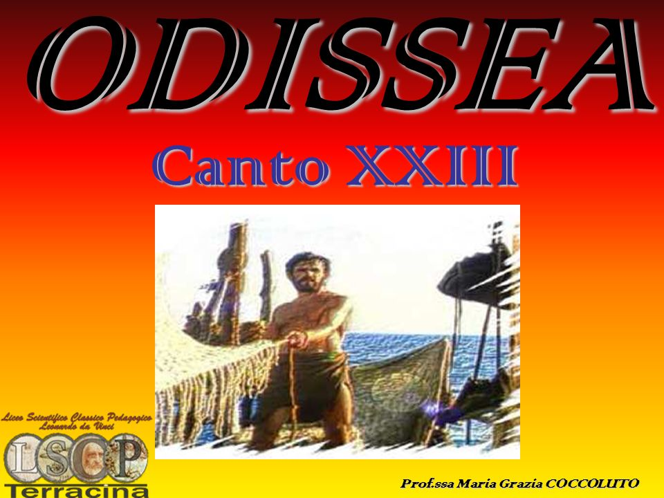 ODISSEA Canto XXIII ODISSEA (canto XXIII)