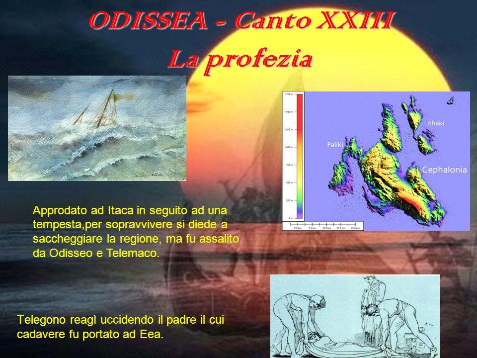 ODISSEA - Canto XXIII La profezia