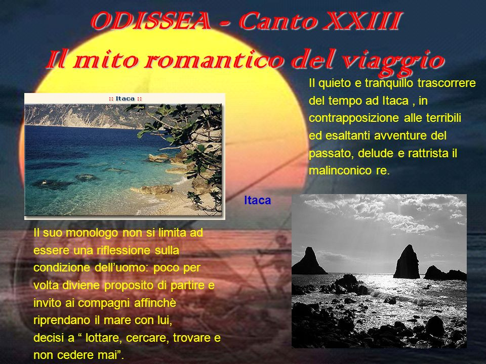 Il mito romantico del viaggio