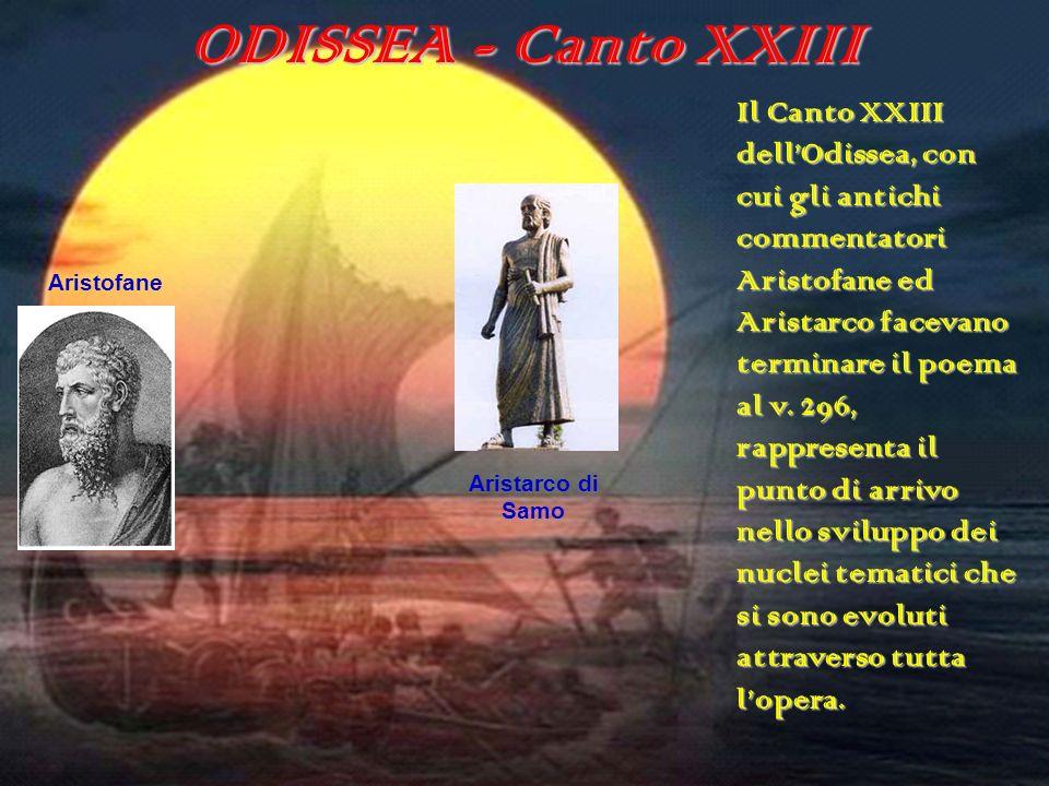 ODISSEA - Canto XXIII ODISSEA (canto XXIII)