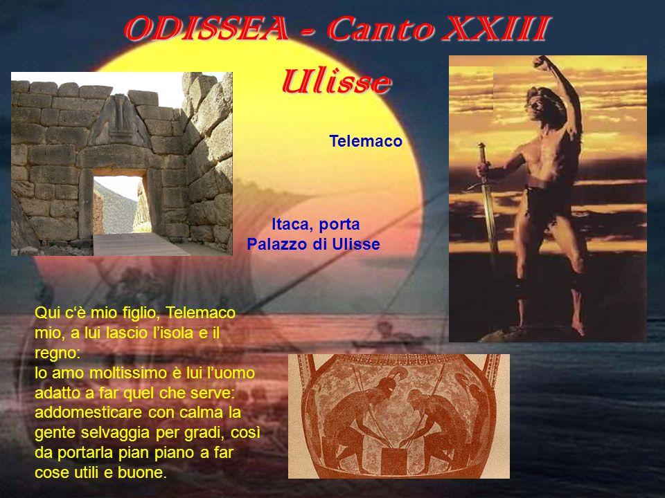 ODISSEA - Canto XXIII Ulisse