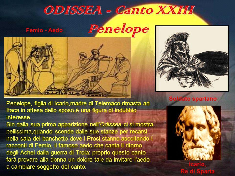 ODISSEA - Canto XXIII Penelope