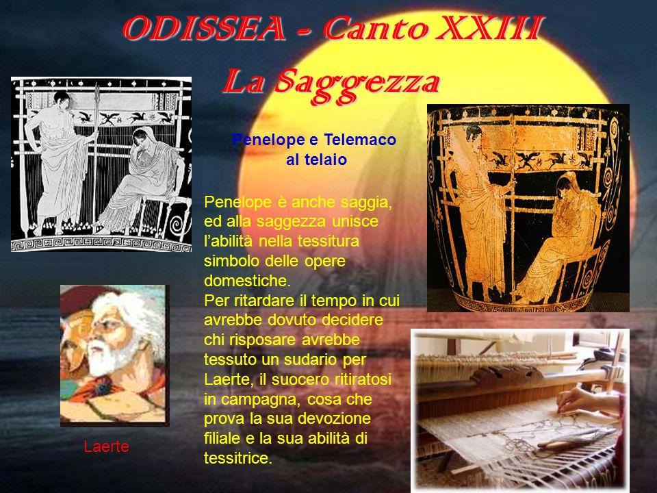 ODISSEA - Canto XXIII La Saggezza