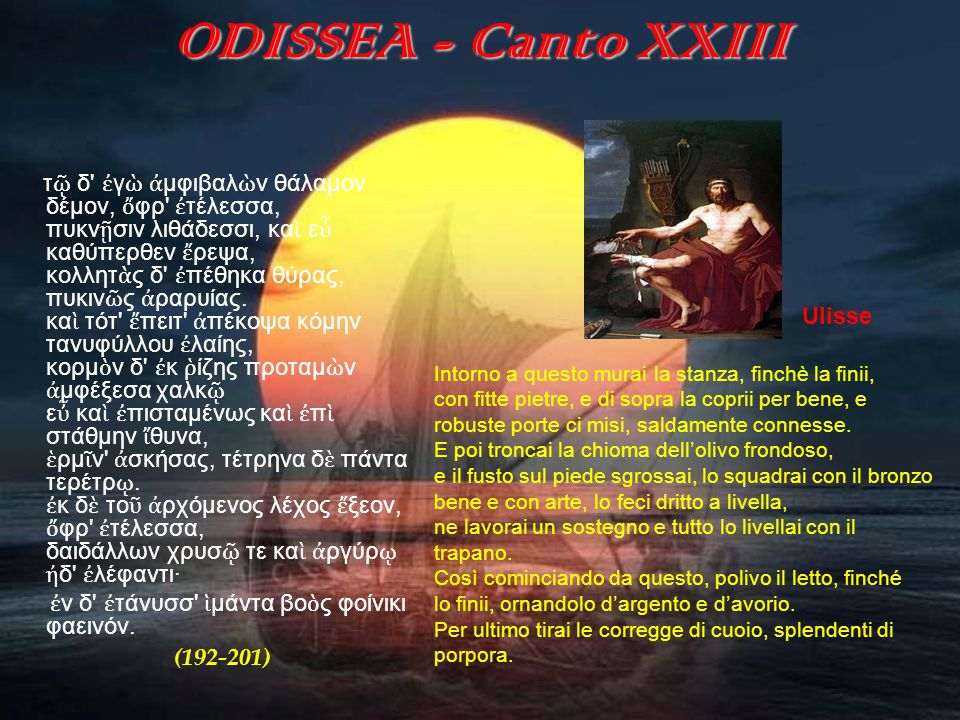 ODISSEA - Canto XXIII