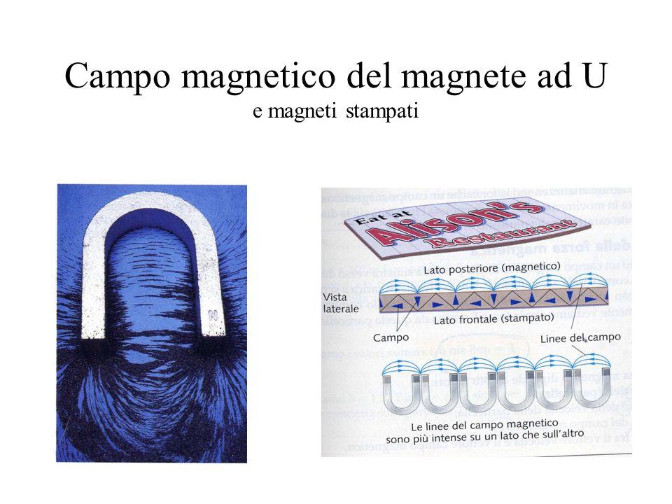 Campo magnetico del magnete ad U e magneti stampati