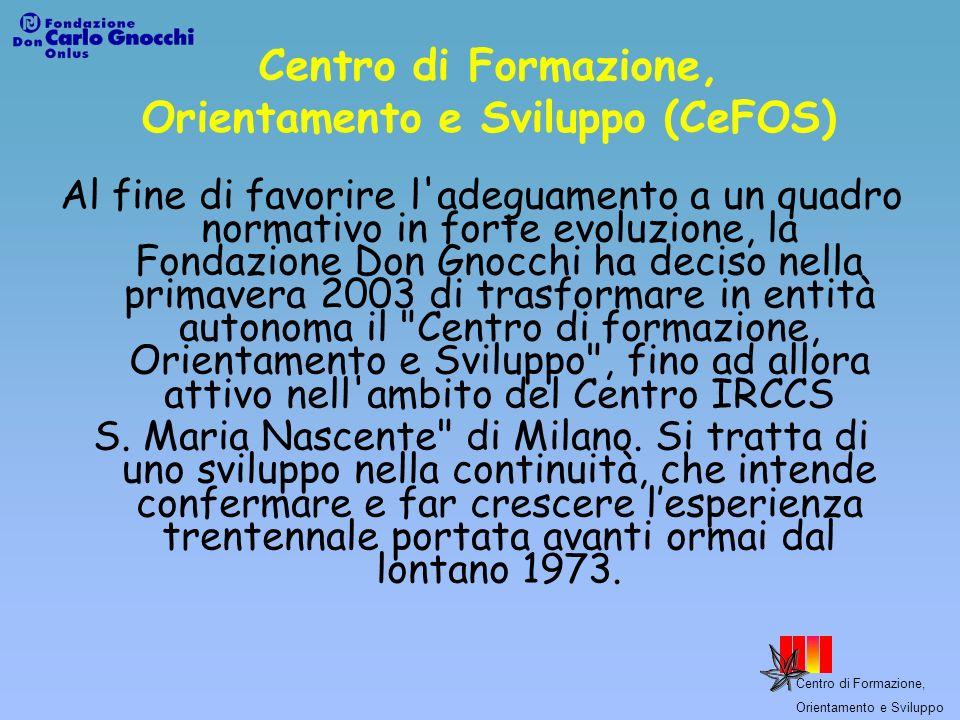 Centro di Formazione, Orientamento e Sviluppo (CeFOS)