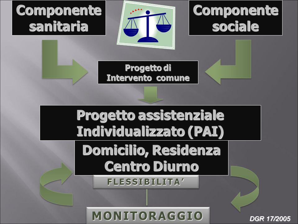Progetto assistenziale Individualizzato (PAI)