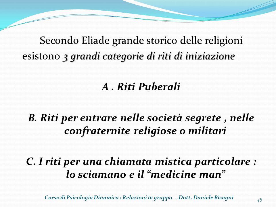 Secondo Eliade grande storico delle religioni