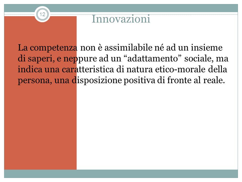 Innovazioni