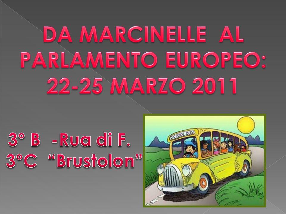 DA MARCINELLE AL PARLAMENTO EUROPEO: 22-25 MARZO 2011