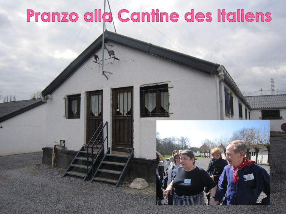 Pranzo alla Cantine des Italiens