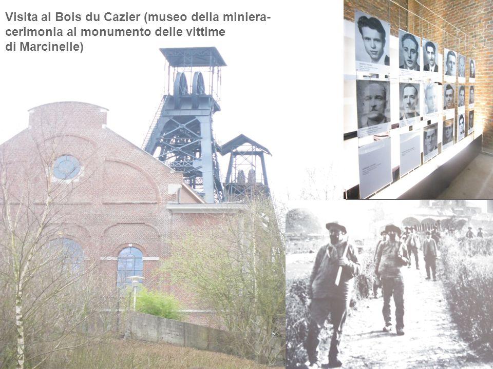 Visita al Bois du Cazier (museo della miniera-