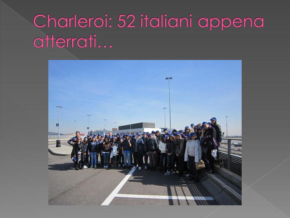 Charleroi: 52 italiani appena atterrati…