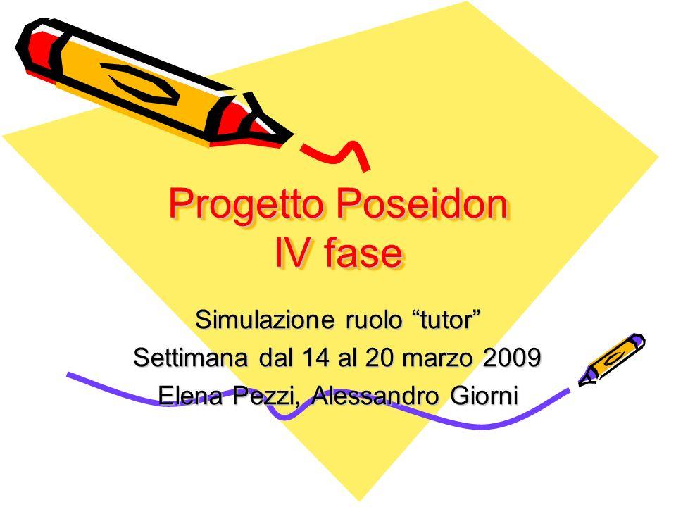 Progetto Poseidon IV fase
