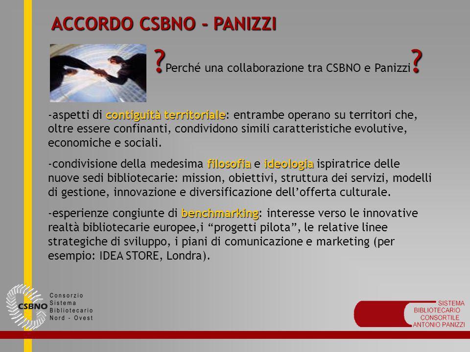 Perché una collaborazione tra CSBNO e Panizzi