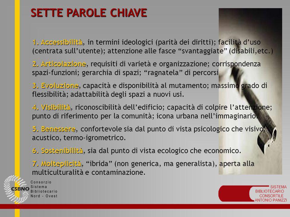 SETTE PAROLE CHIAVE