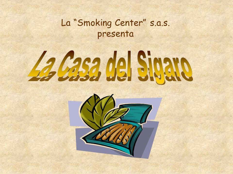 La Smoking Center s.a.s. presenta