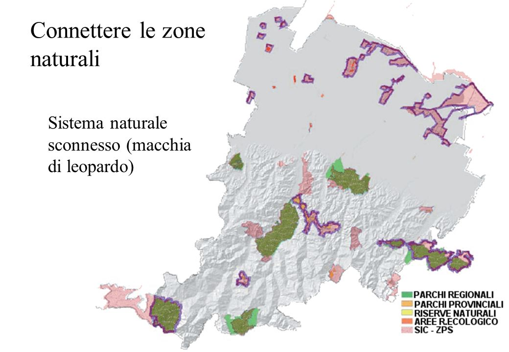Connettere le zone naturali