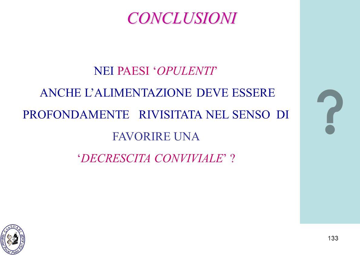 'DECRESCITA CONVIVIALE'