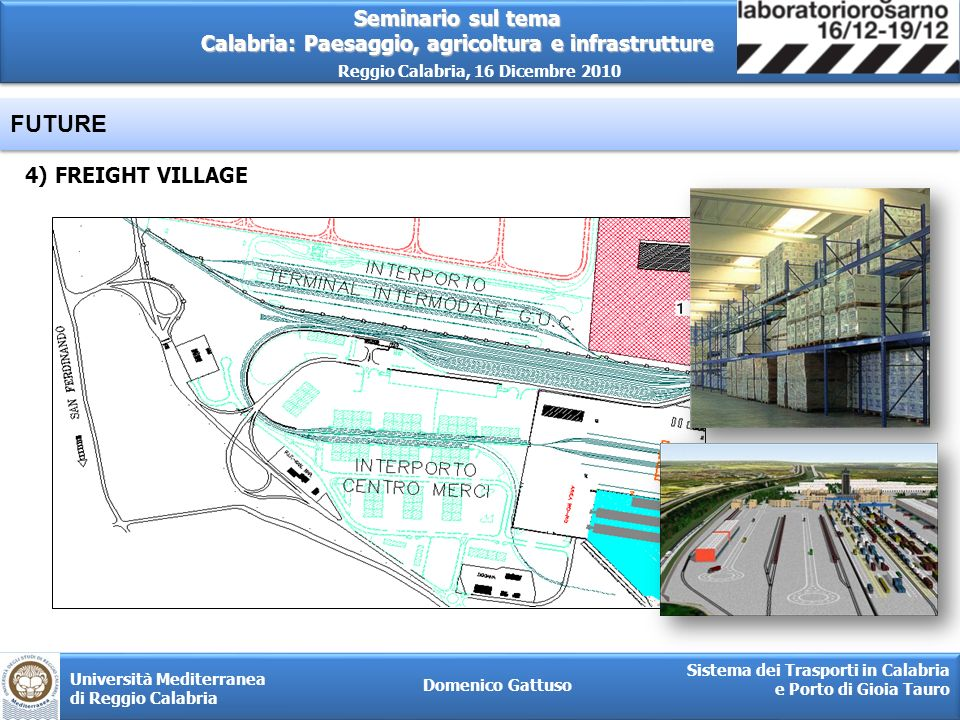 FUTURE 4) FREIGHT VILLAGE