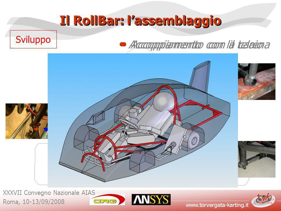 Il RollBar: l'assemblaggio