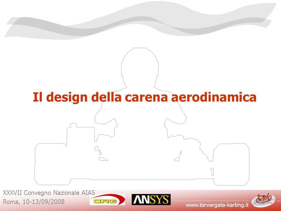Il design della carena aerodinamica