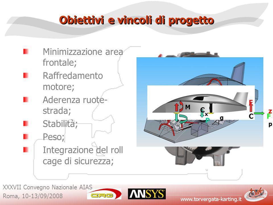 Obiettivi e vincoli di progetto