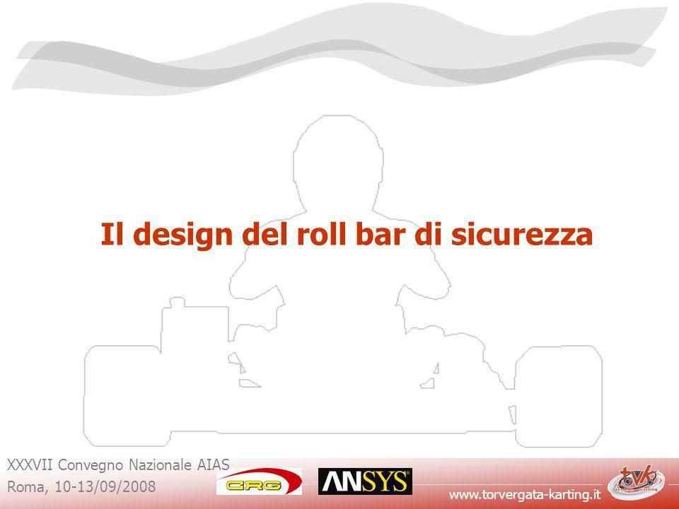 Il design del roll bar di sicurezza