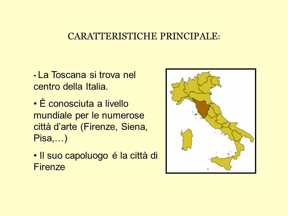 CARATTERISTICHE PRINCIPALE:
