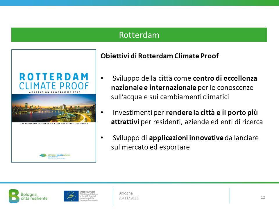 Rotterdam Obiettivi di Rotterdam Climate Proof
