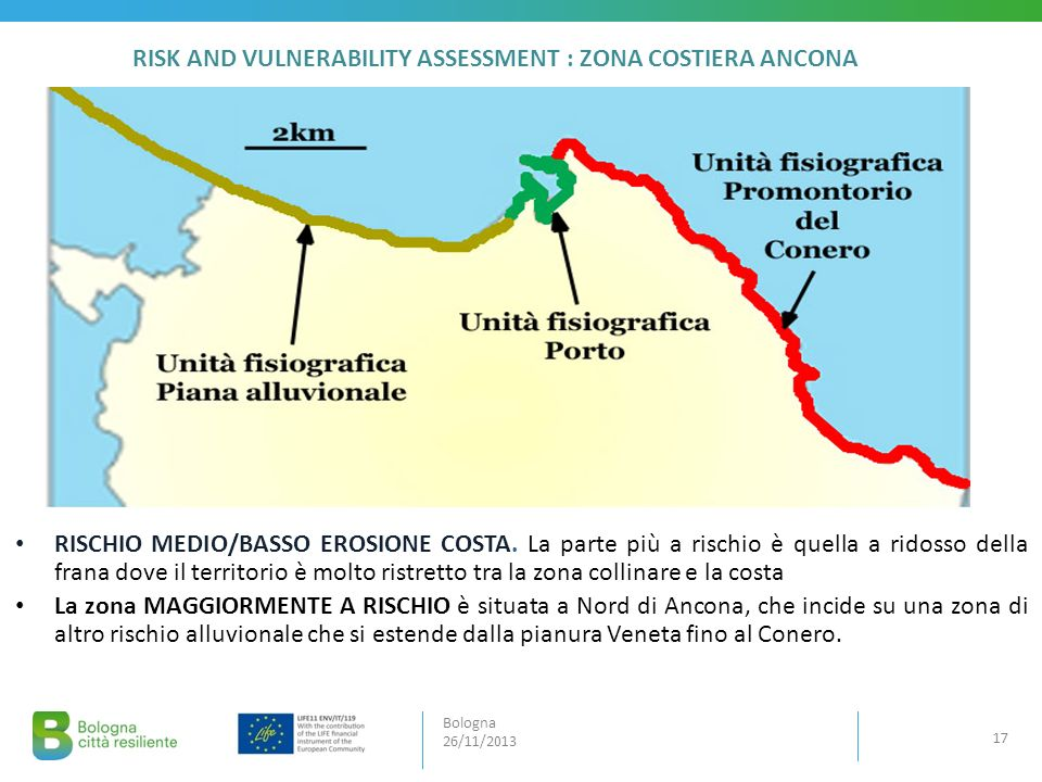 RISK AND VULNERABILITY ASSESSMENT : ZONA COSTIERA ANCONA