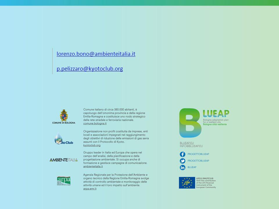 lorenzo.bono@ambienteitalia.it p.pelizzaro@kyotoclub.org