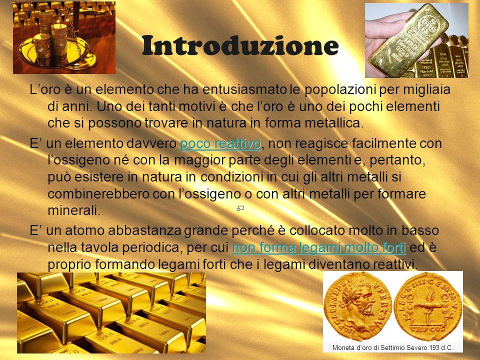 Moneta d oro di Settimio Severo 193 d.C.