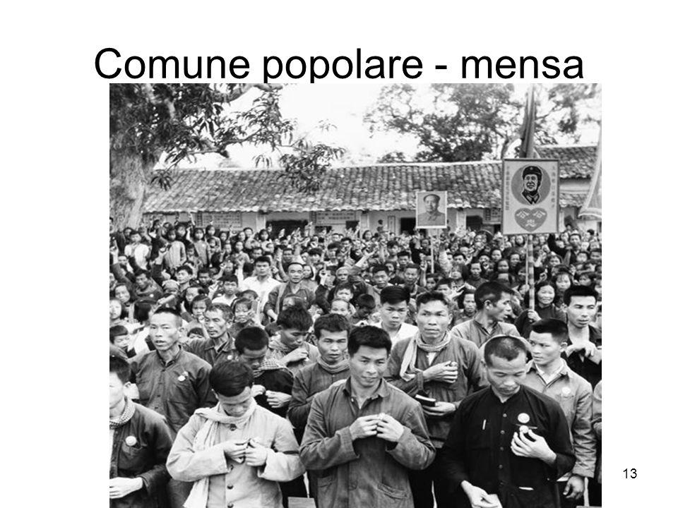 Comune popolare - mensa