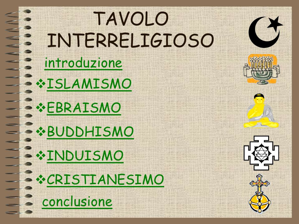 TAVOLO INTERRELIGIOSO
