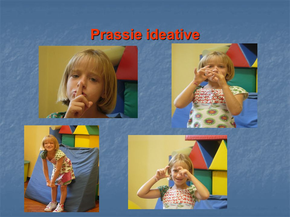 Prassie ideative