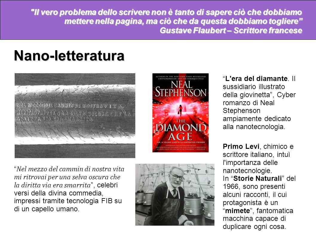 Nano-letteratura Non confondere mai il movimento con l'azione