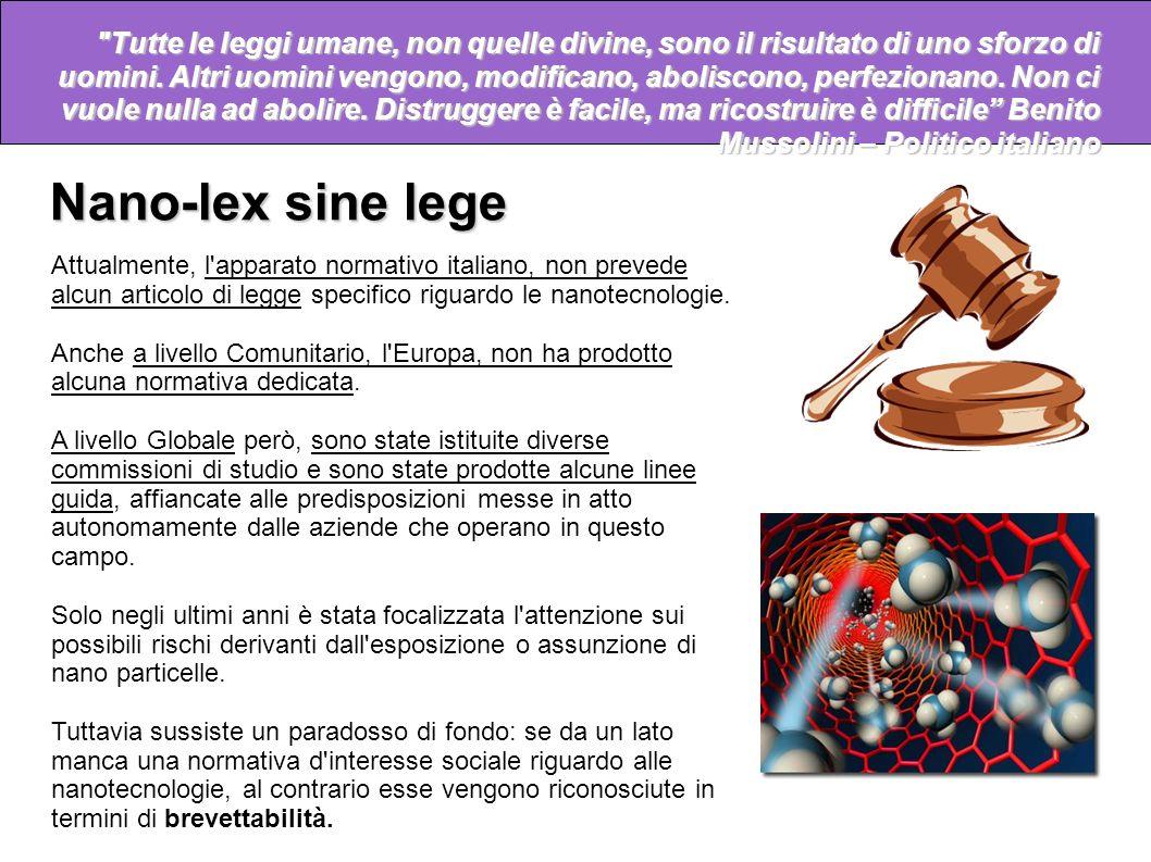 Nano-lex sine lege Non confondere mai il movimento con l'azione