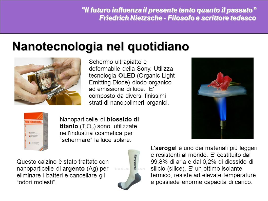 Nanotecnologia nel quotidiano