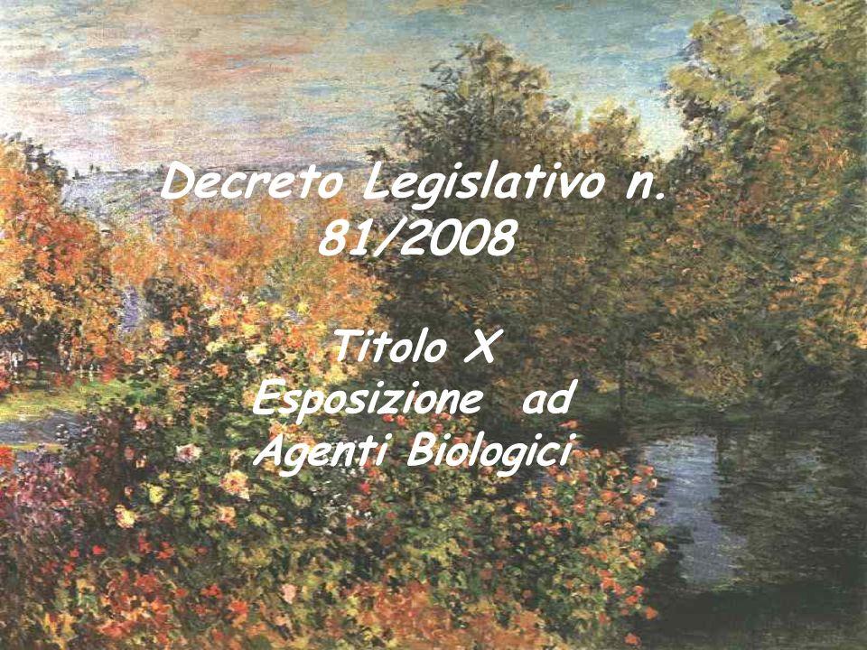 Decreto Legislativo n. 81/2008
