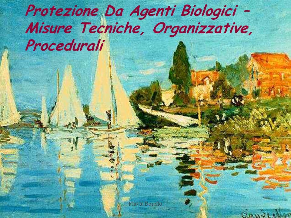Protezione Da Agenti Biologici – Misure Tecniche, Organizzative, Procedurali