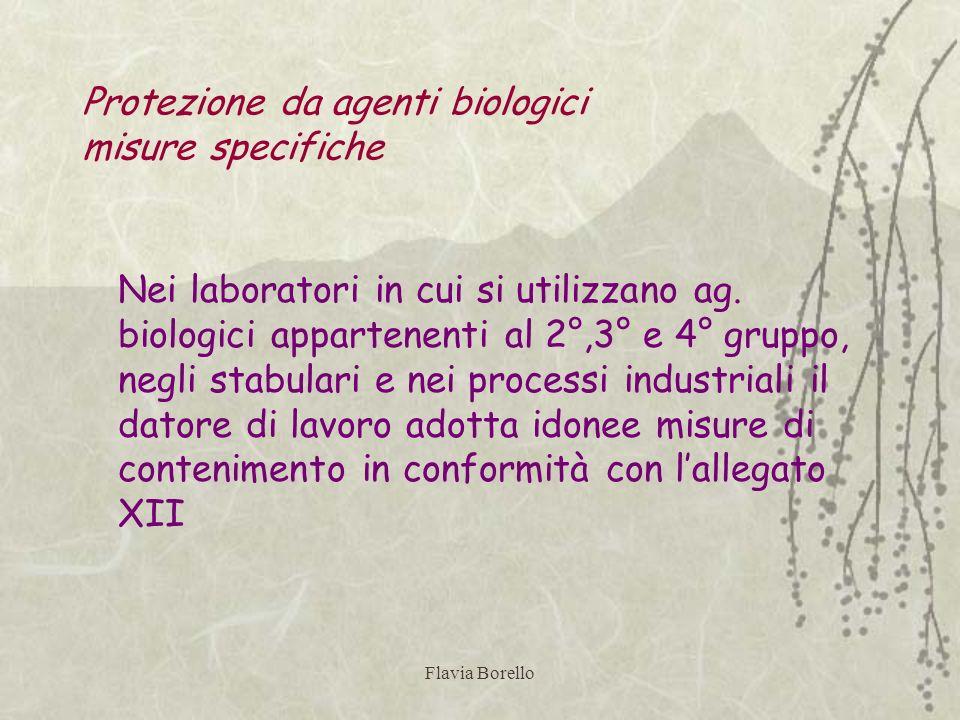 Protezione da agenti biologici misure specifiche
