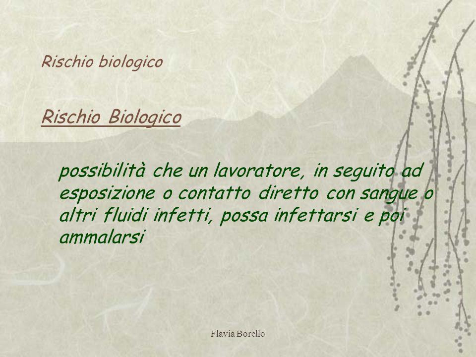 Rischio biologicoRischio Biologico.