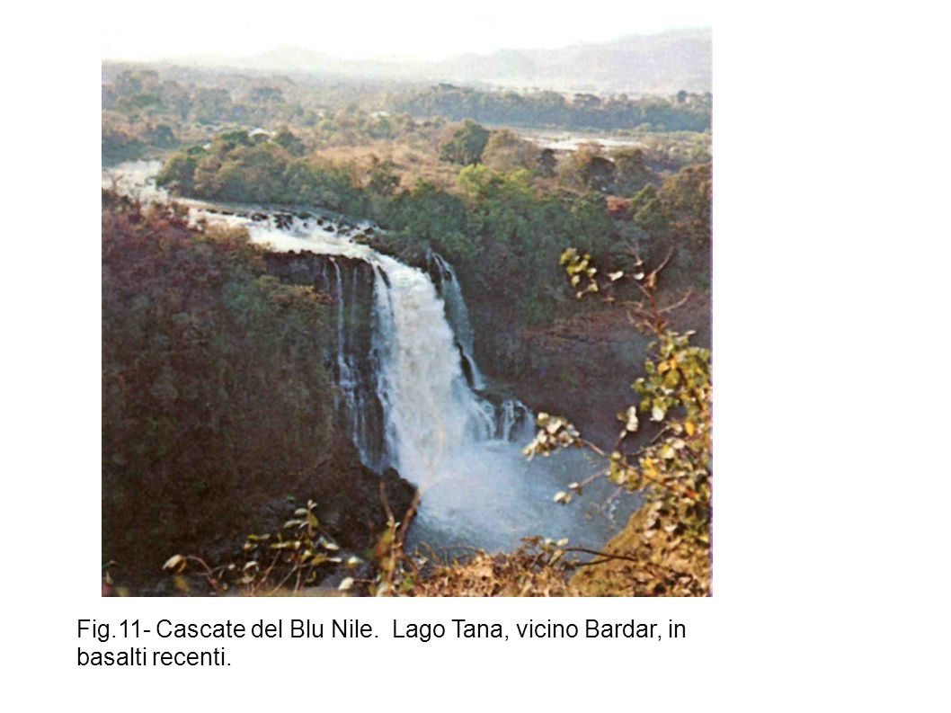 Fig. 11- Cascate del Blu Nile