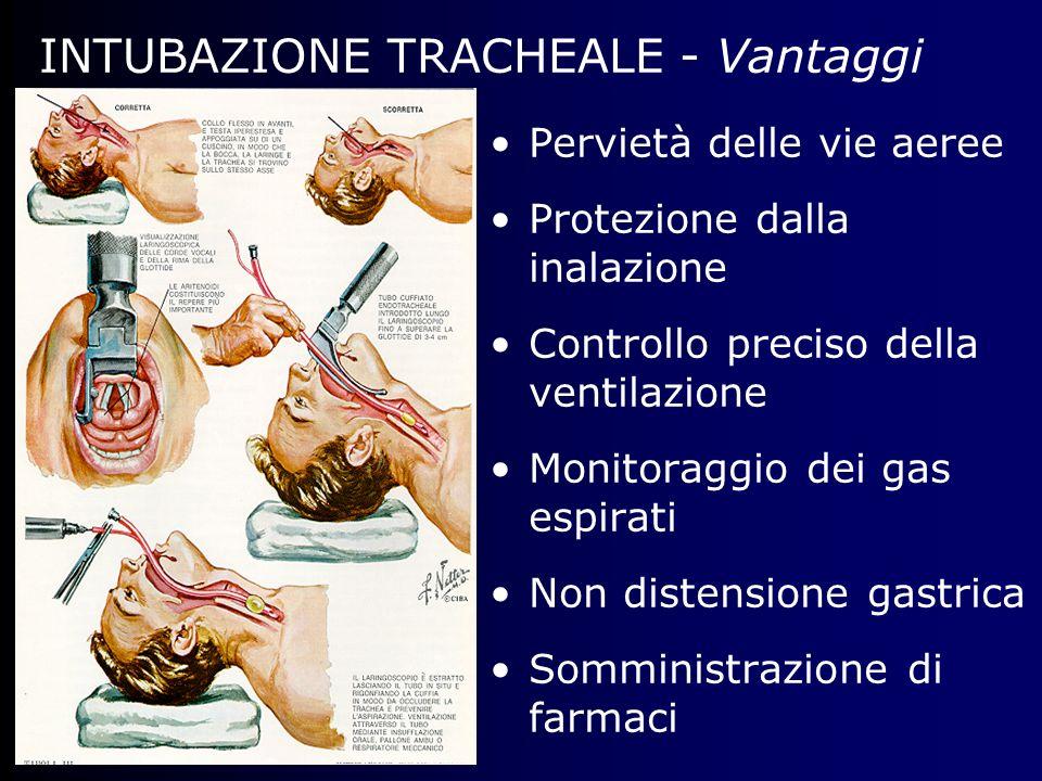 INTUBAZIONE TRACHEALE - Vantaggi