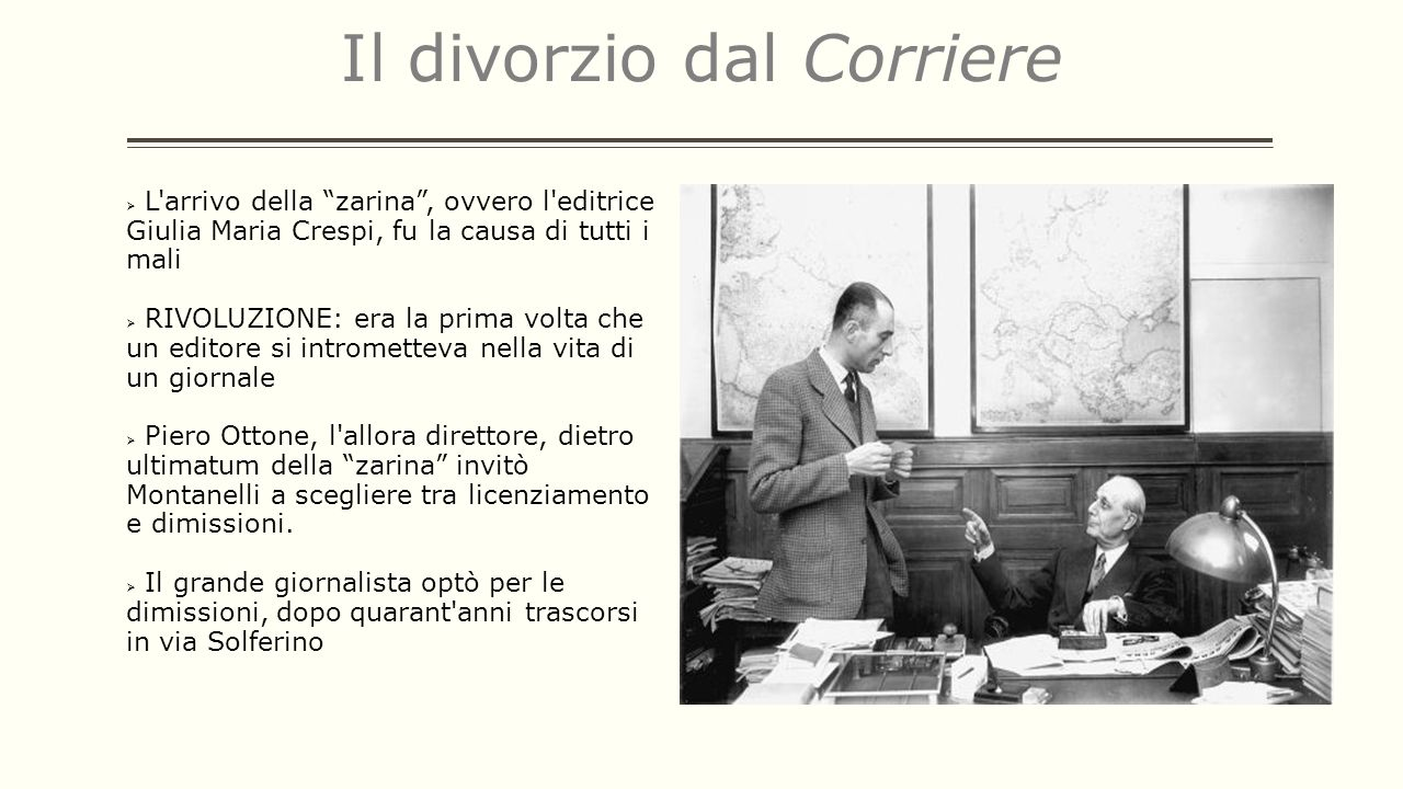 Il divorzio dal Corriere